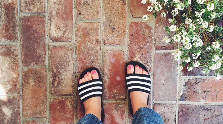 slide sandals como usar